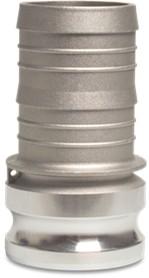 Aluminium plug type E