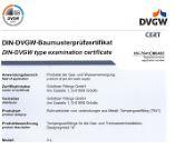 DVGW certificaat